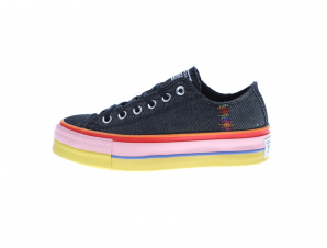 CONVERSE – Γυναικεία sneakers CONVERSE CHUCK TAYLOR ALL STAR LIFT μπλε