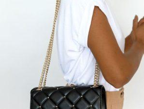 Beverly Hills Polo Club Τσάντα Μεσαία Μαύρη – Bag Box