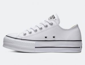 Converse Chuck Taylor All Star Lift Clean Leather Platform (9000017407_32298)