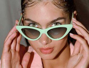 Γυαλιά Ηλίου Με Κοκάλινο Σκελετό Πράσινα – Maeve