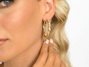 Σκουλαρίκια Χρυσά – Yeldilock
